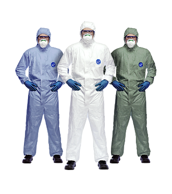 We supply ALL Dupont Disposable Coveralls