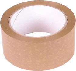 VINYL PVC Parcel Tape Brown 48mm x 66m