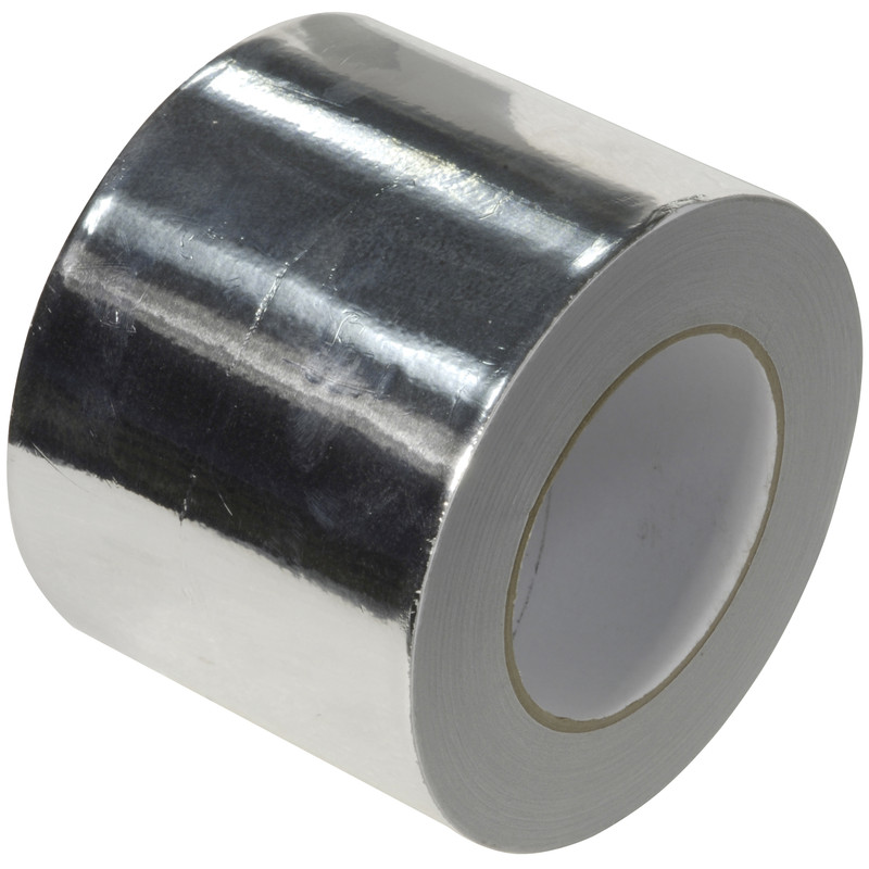 Heat Resistant Aluminium Foil Tape 100mm X 45m Indigo Uk