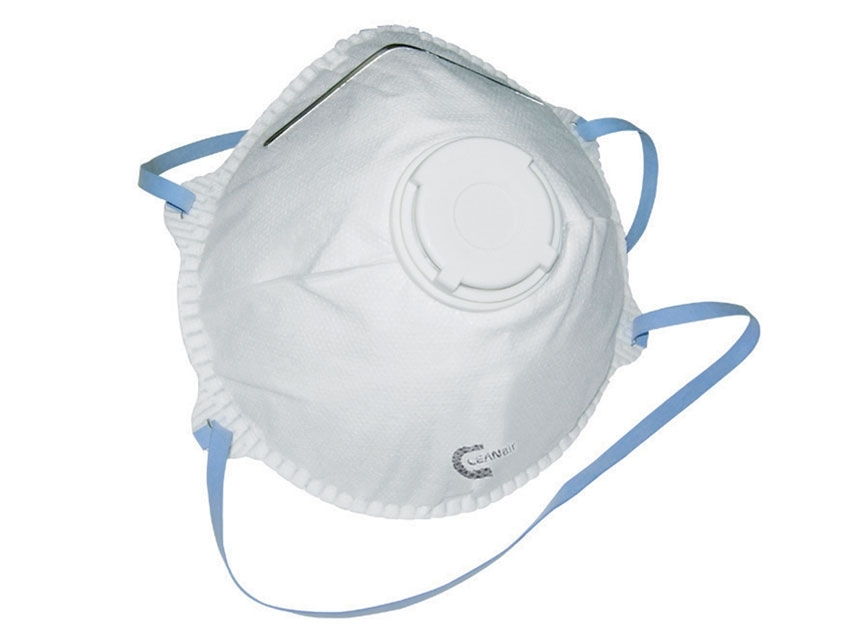 Filters 95% of Particles FFP2 Valved Respirator (5 Masks)