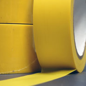 Floor Marking Tape Yellow 75mm x 33m