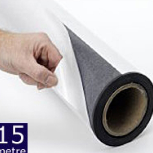 Magnetic Sheet Self Adhesive 620mm x 0.75mm x 15m