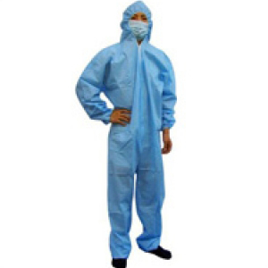 Polypropylene Coveralls Blue Large
