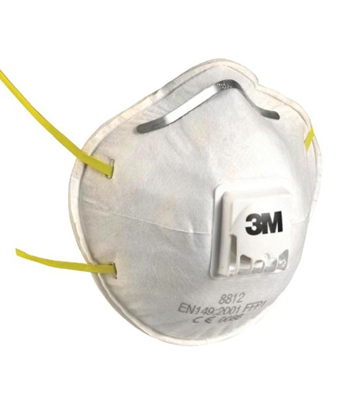 Coronavirus 3M 8812 Valved Respirator FFP1 (10 Masks)