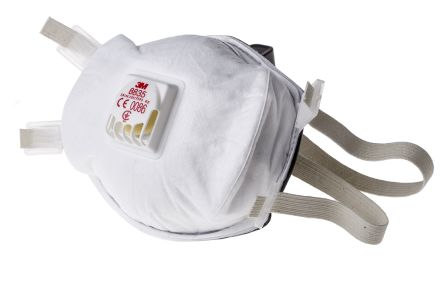 CORONAVIRUS N95 3M DUST MASK 8835 Premium Particulate Respirator FFP3D (Box of 5 Masks)