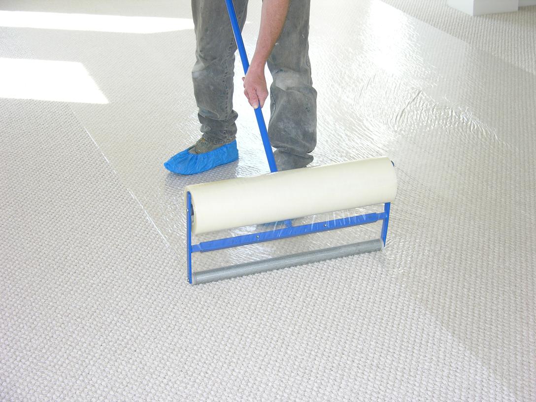 Sticky Shield® Carpet & Floor Protection Film Dispenser 1200mm (dust sheet)