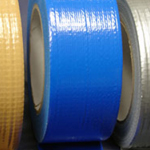 "Cloth Tape Adhesive Blue 3"" x 45m"