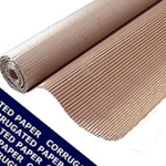 Corrugated Paper Roll 650mm x 75m