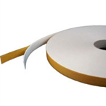 Double Sided Foam Tape High Tack White 6mm x 1mm x 25m