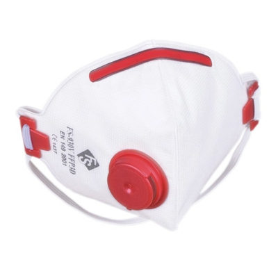FS 930V FFP3 P3 Respirator Face Mask SIDE VALVE (box of 5)