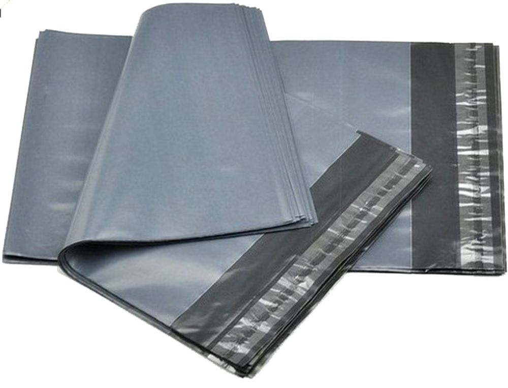 Grey Polythene Mailers 250mm x 350mm