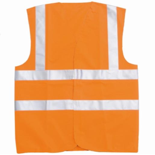 Hi-Vis Waistcoat Orange XL
