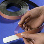 "Flexible Magnetic Tape Foam Adhesive 12.5mm x 1.5mm x 30m Type ""A"""