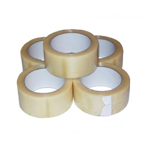 VINYL PVC Parcel Tape Clear 48mm x 66m
