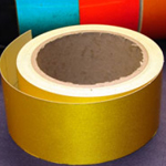 Reflective Tape Self Adhesive Yellow 25mm x 10m
