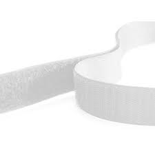 Rip 'n' Grip Tape HOOK White Sew-on 25mm x 25m