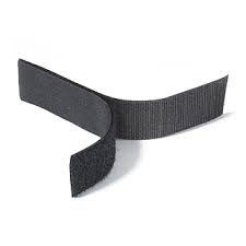 Rip 'n' Grip Tape HOOK Black Sew-on 25mm x 25m