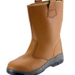 Tan Safety Rigger Boot Size 8